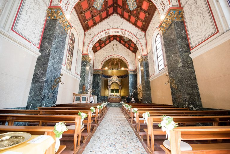 Inside Cadenabbia Church, Lake Como