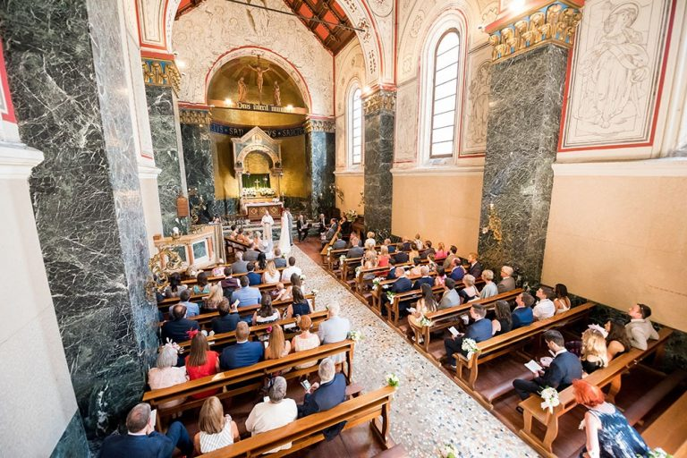 A Wedding Ceremony in Cadennabia Church