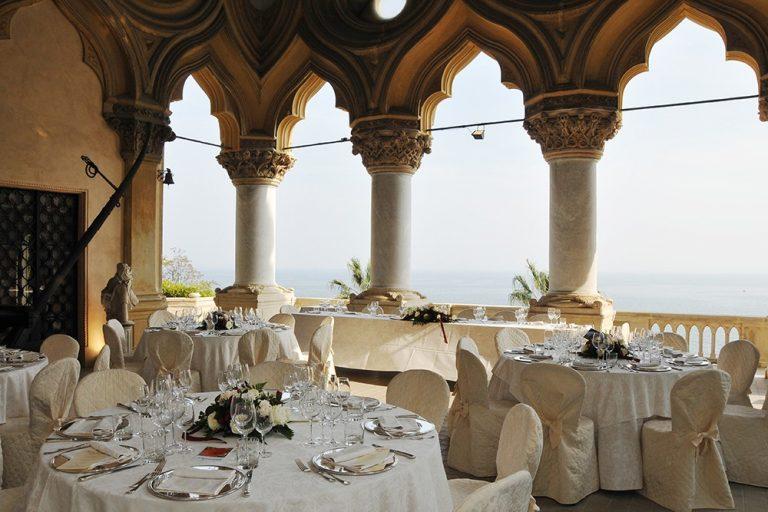 Wedding Reception at Isola del Garda
