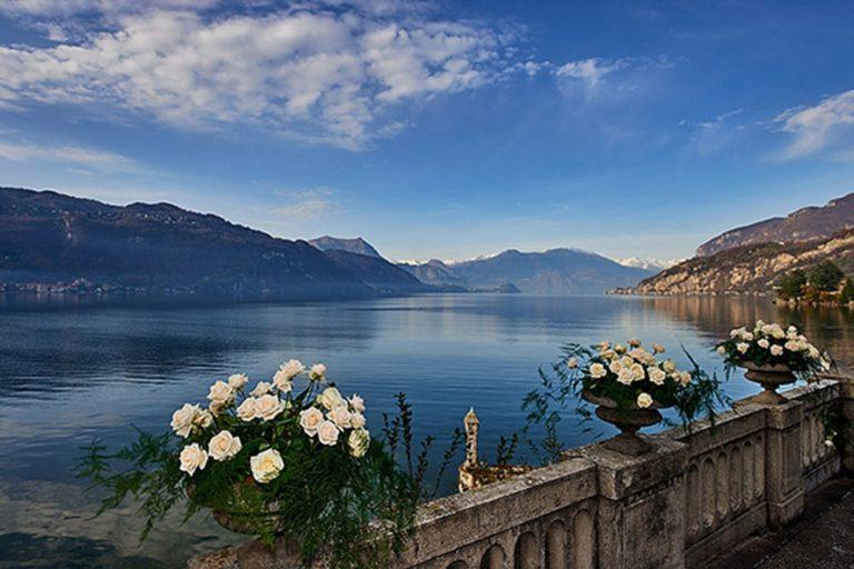 The view of the Lake at Villa Lario