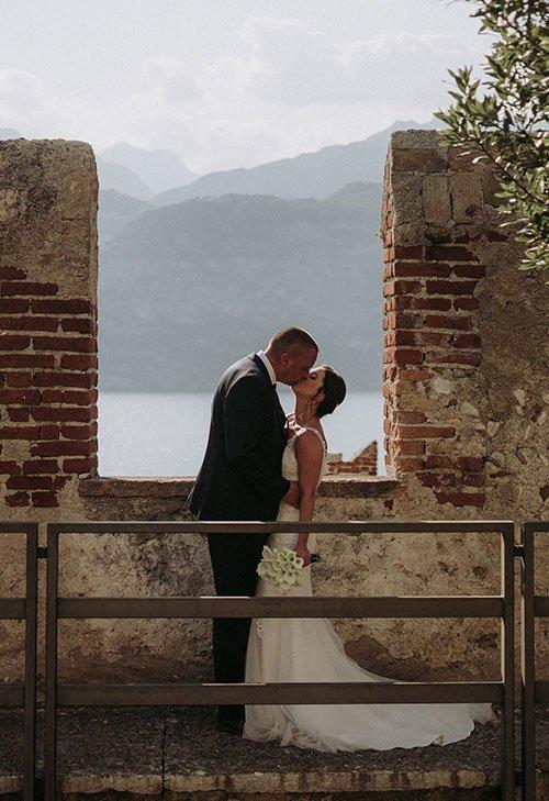 Madeline & Ben's Lake Garda Wedding – Malcesine Castle