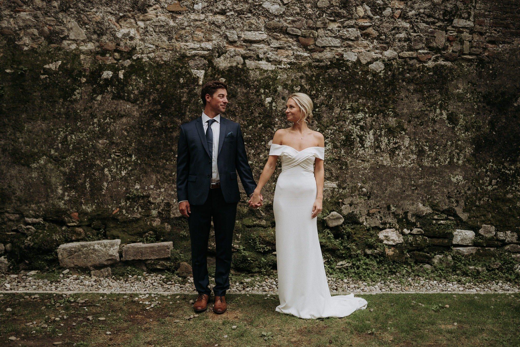 Catie & Trav's Lake Garda wedding – Sant'Anna Church & Villa Arcadio