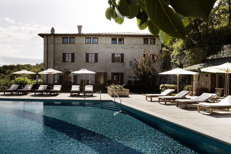 The pool at Villa Arcadio, Lake Garda