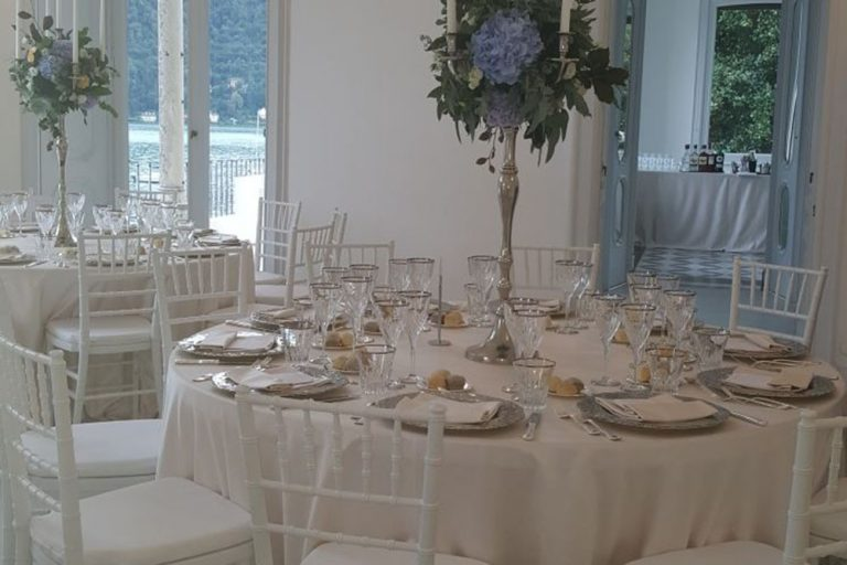 Wedding Reception at Villa Bianca, Lake Como