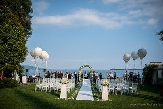 A Wedding ceremony at Torre San Marco, Lake Garda