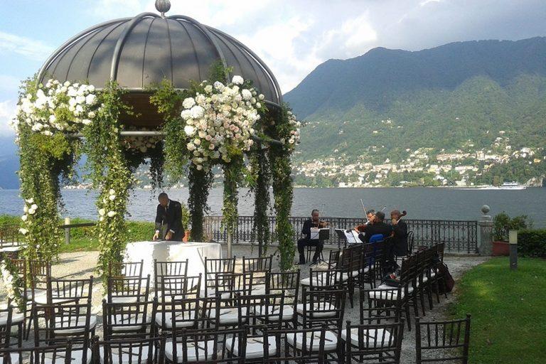 Wedding Ceremony at Villa Erba