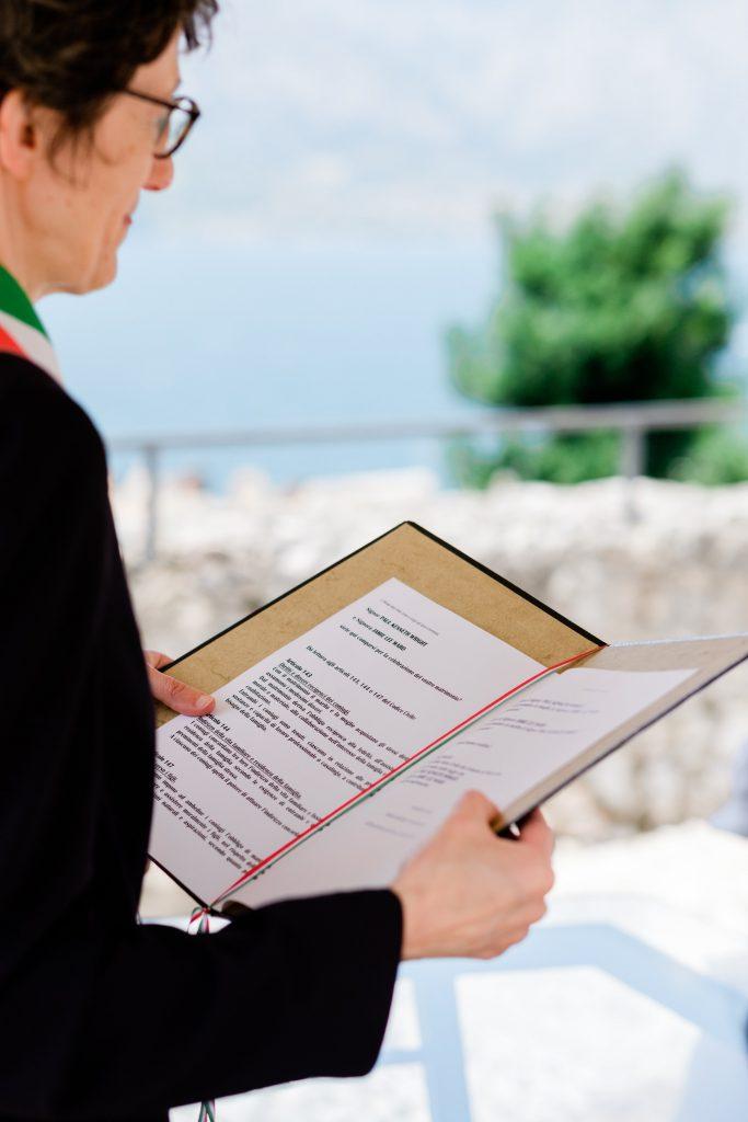 Civil Wedding Ceremony in Italy
