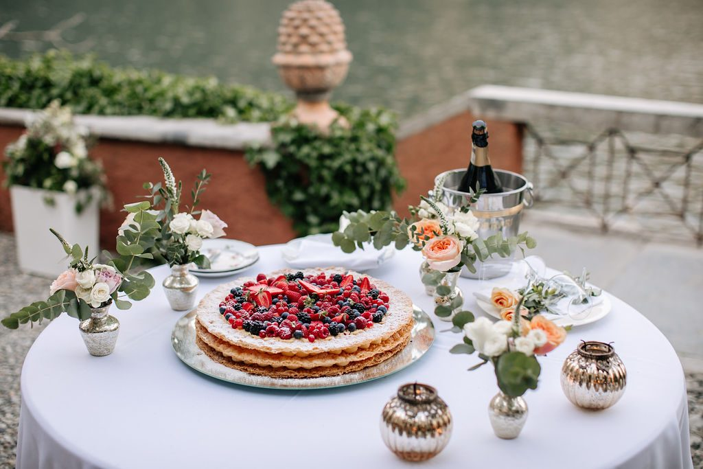 Traditional Italian Wedding Cake