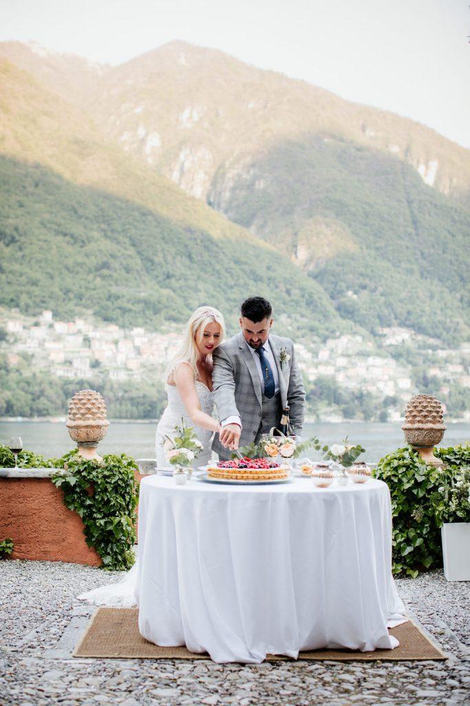 Wedding Cake Lake Como
