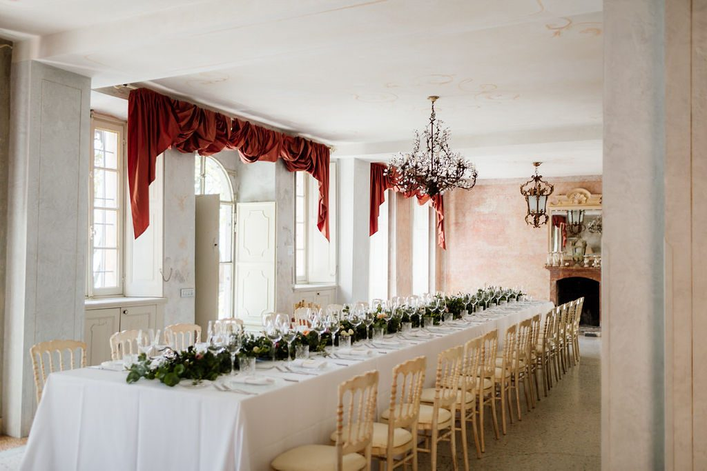 VillaRegina Teodolinda wedding breakfast